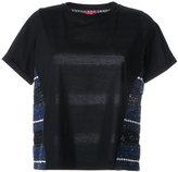 Coohem tweed detail blouse