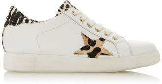 Dune London Edris S Star Lace Up Trainers
