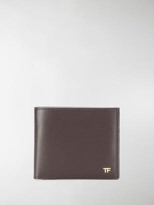Tom Ford Logo Bi-Fold Wallet