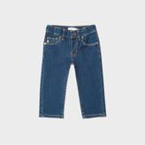 Paul Smith Baby Boys' Mid-Wash Denim 'New York' Jeans