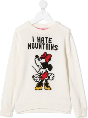Mc2 Saint Barth Kids Princess angry Minnie jumper