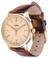 Timex Men's Originals T2P237 Leather Quartz Fashion Watch