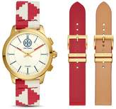 Tory Burch ToryTrack Collins Red Hybrid Smartwatch, 38mm