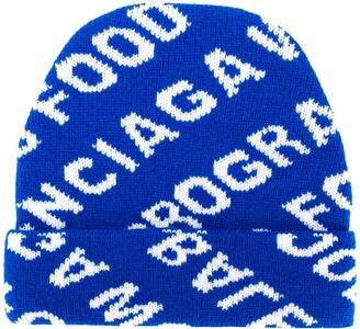 Balenciaga World Food Programme beanie