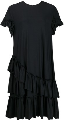 Simone Rocha ruffle-trimmed T-shirt dress