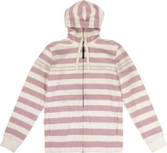 Stone Island Striped Zip-Up Sweater 'Marina' - Large