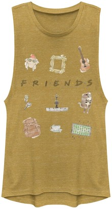 Icons Juniors' Friends Classic Logo Muscle Tank