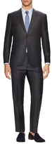 Ermenegildo Zegna Wool Striped Notch Lapel Suit
