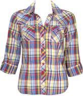 Rainbow Plaid Shirt