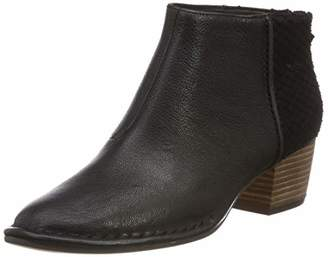 Clarks Women's Spiced Ruby Ankle Boots, Black (Black Combi Leather