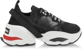 DSQUARED2 The Giant K2 Mesh, Calf Leather and Neoprene Men's Sneakers