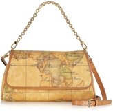 "Alviero Martini 1a Prima Classe - Geo Printed Small ""Contemporary"" Shoulder Bag"
