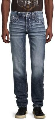 Affliction Gage Fleur Straight Stretch Jeans