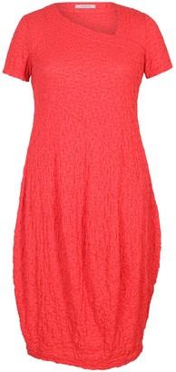 Chesca Asymmetric Neck Bubble Dress