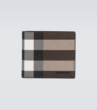 Burberry Checked bifold wallet