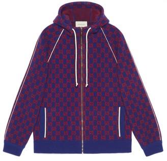 Gucci GG wool bomber jacket