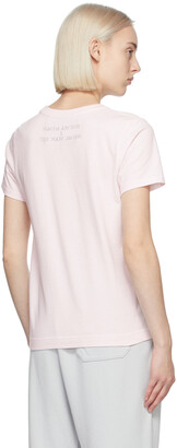 Marc Jacobs Pink Magda Archer Edition 'We're In The Shit' T-Shirt