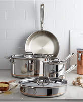 All-Clad Copper-Core 7 Piece Cookware Set