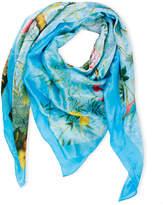 Saachi Bird Garden Silk Touch Multi Way Scarf