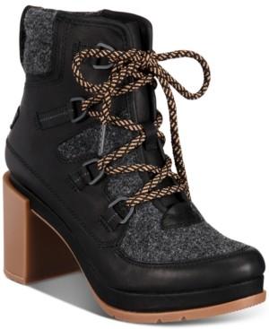 Sorel Women's Blake Waterproof Lace-Up Booties Women's Shoes