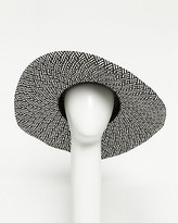 Le Château Paper Two-tone Floppy Hat