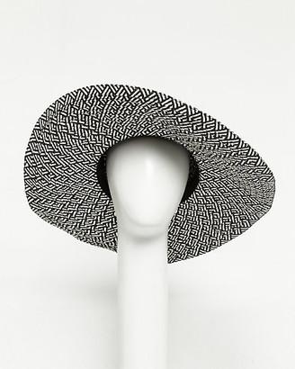Le Château Paper Two-tone Floppy Hat