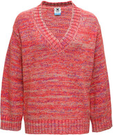 Thumbnail for your product : M Missoni Red Cashmere Blend Sweater