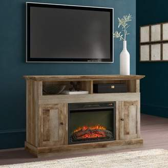 Greyleigh Ringgold TV Stand for TVs up to 58 inches with Electric Fireplace Included Greyleigh