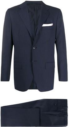 Kiton Striped Two Piece Suit