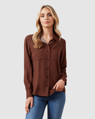French Connection Women's Shirts & Blouses - Soft Essential Shirt - Size One Size, 6 at The Iconic