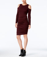 Bar III Cold-Shoulder Bodycon Dress, Only at Macy's