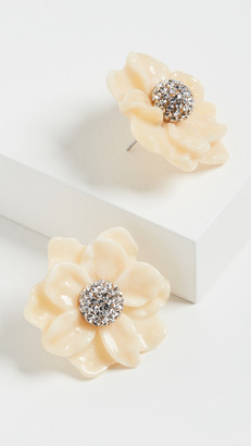 Lele Sadoughi Gardenia Stud Earrings