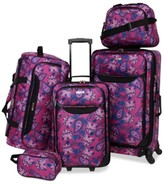 Tag Tag Springfield III Printed 5-Pc. Luggage Set