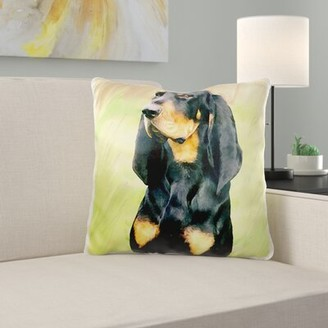 Minna East Urban Home Coonhound Pillow Cover East Urban Home