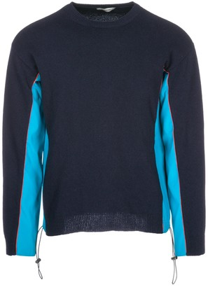 Valentino Contrasting Panelled Sweater