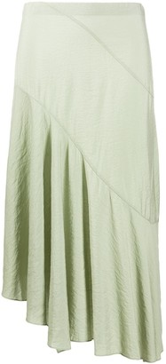 Vince Asymmetric Draped Skirt