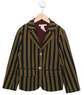 Bonpoint Girls' Wool Striped Jacket