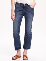 Old Navy Mid-Rise Cropped Flare Jeans for Women