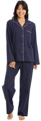 S.O.H.O New York Full Flannel Polkadot Pyjamas