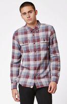 Vans Alameda Port Plaid Flannel Long Sleeve Button Up Shirt