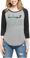 '47 Women's Philadelphia Eagles Club Block Raglan T-Shirt