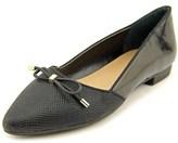 Alfani Zelaa Women Pointed Toe Synthetic Black Flats.
