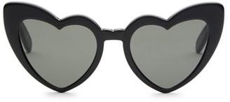 Saint Laurent 181 Lou Lou 54MM Heart-Shaped Sunglasses
