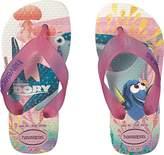Havaianas Kids' Nemo and Dory Sandal White Flip Flop