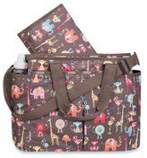Le Sport Sac Zoo Buddies Diaper Bag in Brown