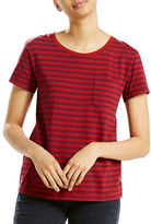 Levi'S The Perfect Cotton Pocket Tee