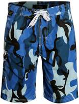 APTRO Men's Quick Dry Board Shorts Camouflage Printed Swimwear 1706 XXXL