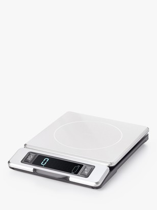 OXO Good Grips Stainless Steel Electronic Kitchen Scale, Silver, 5kg