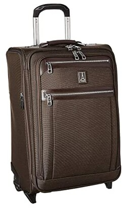 Travelpro Platinum(r) Elite - 22 Expandable Carry-On Rollaboard (Rich Espresso) Luggage