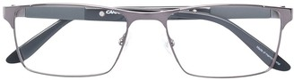 Carrera Rectangular Framed Metal Glasses